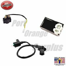 Gy6 50cc 125cc 150cc Scooter Atv Ignition Coil + Starter Relay + CDI Taotao SunL