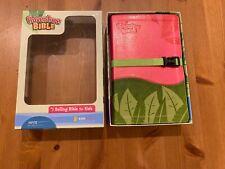 Adventure Bible, NIV Updated, Clip Closure, Italian Duo-Tone, Pink / Green 2008
