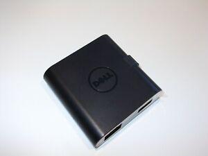 DELL Mini Universal Docking Adapter DA200 USB-C 3.0 HDMI VGA Ethernet
