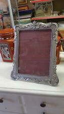 """SEAGULL PEWTER 8"""" * 10"""" PICTURE FRAME"""