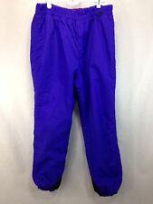 VTG Columbia Snow Pants Womens Large Ski Pants Purple Pink Snowboard Winter Warm