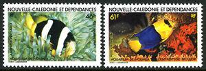 New Caledonia C193-C194, MNH. Noumea Aquarium Fish, 1984