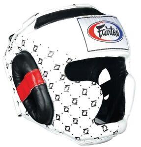 FAIRTEX Kopfschutz HG10  Super Sparring weiß
