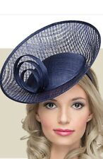 Navy Blue Wedding DISC FASCINATOR OCCASION MOTHER OF THE BRIDE