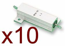 Lot de 10 Résistances / resistor 220 Ohms 50W SH50 WISHAY