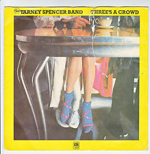 TARNEY SPENCER BAND Vinyle 33T 17 cm Souple EASIER FOR YOU Pub THREE'S A CROWD