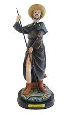 "12"" San Roque Statue Religious Figurine Figure Saint Santo St Catholic"
