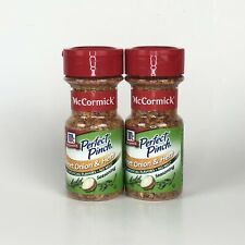 McCormick Perfect Pinch Sweet Onion & Herb 2.62oz Discontinued Lot of 2