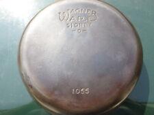 "VTG Wagner Ware No 5 Sidney -O- 1055 8"" Cast Iron Skillet Beautiful!  Seasoned"