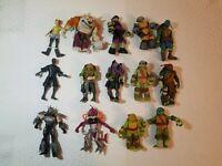 TMNT Nickelodeon Viacom Action Figure Lot of 13 teenage mutant Ninja Turtles