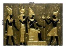 RELIEF OSIRIS FLACHRELIEF RELIEFS ÄGYPTISCHE WANDBILD WANDRELIEF SKULPTUR BILD