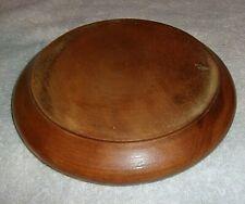 """Round Wooden Stand Base Dark Brown 6 1/2"""" Diameter"""