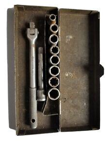 30s/40s vintage Craftsman socket set