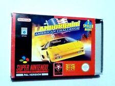 Super Nintendo SNES Lamborghini American Challenge neuf dans sa Boîte + Anl
