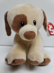 """Ty Baby Bumpkin The Dog Soft Toy-Safe For Babies NEW MWMT 6.75"""" Plush-Perfect"""