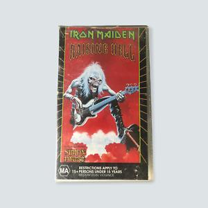 Iron Maiden: Raising Hell VHS - 1994/GC/PAL/Hard Rock/Metal Rock/Free Post 🐙