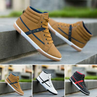MENS RUNNING TRAINERS CASUAL LACE UP GYM WALKING TRAINER SPORTS SHOES BOY HOT