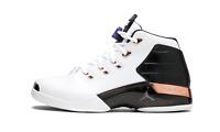 Nike Air Jordan 17+ Retro COPPER OG WHITE BLACK 832816-122 B-GRADE Men's RARE