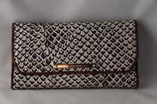 Brahmin Soft Checkbook Wallet Onyx Java - G44 706