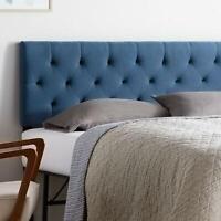 King/California King Headboard Modern Upholstered Diamond Tufted Bed Headboard
