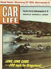 CAR LIFE 1965 JUNE - GT350 & CUDA S TESTS,FORD DOHC,PARNELLI,CONCOURS,FLAT 16