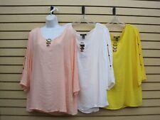 women clothing ,blouse- plus size , by design