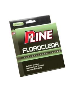 P-Line Floroclear 300-Yard Filler Fishing Line  15-Pound, Mist Green