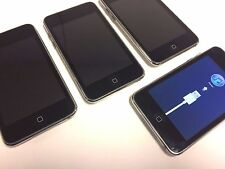 lot of Four (4) Apple iPod touch 2nd Generation Black 8GB - A1288
