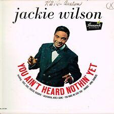 JACKIE WILSON you ain't seen nothing yet U.S. BRUNSWICK LP_rare promo 1961