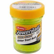 Berkley Powerbait Glitter Yellow Spring