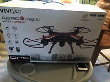 Vivitar DRC-446 Aero View GPS + Wi-Fi HD Camera Drone