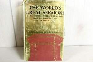 The World's Great Sermons Frost Book Great Pulpit Eloquence Preachings Preacher