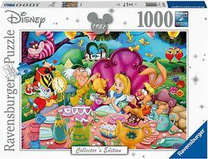 Ravensburger Disney Alice In Wonderland Tea Party 1000 Piece Jigsaw Puzzle NEW