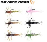 Savage Gear 3D TPE Mayfly Nymph Fishing Lure 5cm 2.5g Various Colours Trout Bass