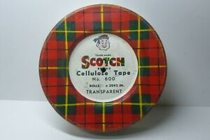 VINTAGE TIN - SCOTCH TAPE TIN