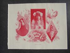1898 GIORNALE STAMPA 1 Berlino teatro Blumenthal Brandt Pierson Brahm Agnes Sorma