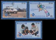 LAOS N°1617/1619** Assurances Gales du Laos, 2006 AGL Sc#1683-1685 NH