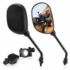 Universal Atv Side Rear View Mirror w/ 7/8 Handlebar Mount for Polaris Honda