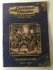 Dungeons And Dragons Board Game PLAYERS GUIDE Booklet Only! Spare Part 2003