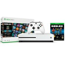 Xbox One S 1TB Roblox Console Bundle - White Xbox One S Console And Controller -