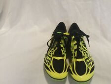 Men's Saucony Velocity Spike Track Spikes Cleats Yellow Black Green Size 8.5