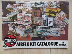 1976 Airfix kit catalogue 13th edition