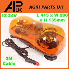 Magnetic Flashing Amber Super Beacon Bar Emergency Light Recovery Halogen Lorry