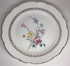 Lot1 De 6 Grandes Assiettes Plates En Porcelaine Sarreguemines Calvi D 24 Cm