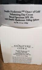 Signature Club 3.5 oz- A Double Hyaluronic Ounce of Gold Day Cream SPF Exp  2/21