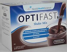 ORIGINAL | OPTIFAST® 800 POWDER SHAKES | CHOCOLATE | 1 CASE | 84 SERVINGS
