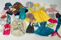 Barbie Doll Clothing Lot Dresses Skirts Pants Mermaid Tail Vintage 1980s 1990s?