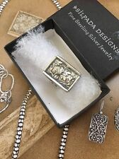 RARE SILPADA SIZE 6 STERLING SILVER LEAF VINE STATEMENT RING R1839