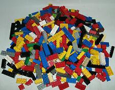 400 Lego System / Basic Steine Bausteine Grundbausteine versch. Farben u. Größen