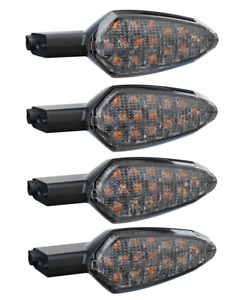 INDIAN MOTORCYCLE CLEAR TURN SIGNAL KIT FOR 2019-2020 FTR 1200 MODELS FRONT REAR